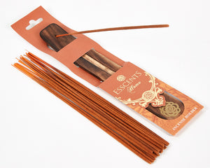 Orange Incense Holder Esscents Flower image 1
