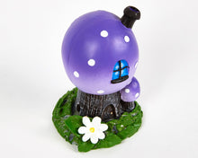 Load image into Gallery viewer, Purple Toadstool House Incense Burner image 2