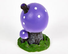 Load image into Gallery viewer, Purple Toadstool House Incense Burner image 3