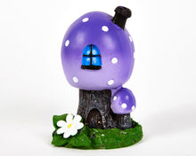 Load image into Gallery viewer, Purple Toadstool House Incense Burner image 4