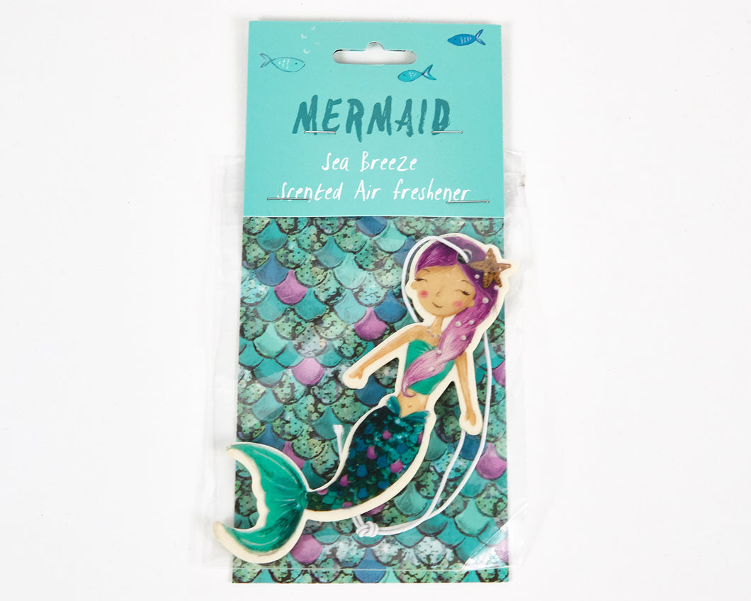 Mermaid Sea Breeze Scented Car Air Freshener