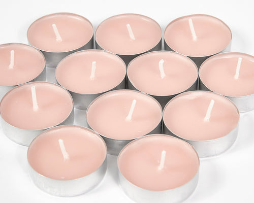 Rose Scented Tea Lights Candles image 1