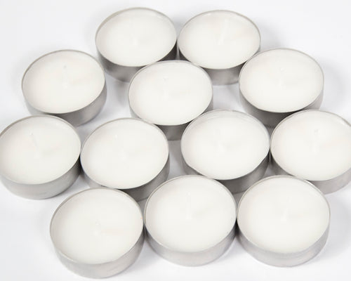 Fresh Cotton Scented Tea Lights Candles image 1