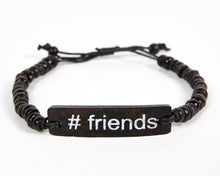 Load image into Gallery viewer, #Friends Adjustable Beaded Friendship Bracelet
