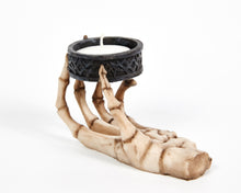 Load image into Gallery viewer, Skeleton Hand Tea Light Holder, Candle Holder, Decorative Ornament