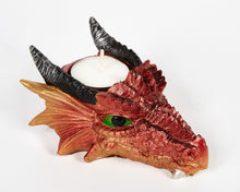 Load image into Gallery viewer, Dragon Head Tea Light Holder, Candle Holder, Decorative Ornament