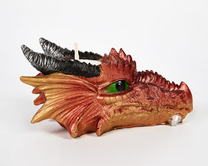 Dragon Head Tea Light Holder, Candle Holder, Decorative Ornament