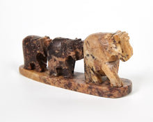 Load image into Gallery viewer, Three Elephants Soapstone Incense Holder image 6