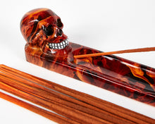 Load image into Gallery viewer, Red Skull Incense Holder image 2