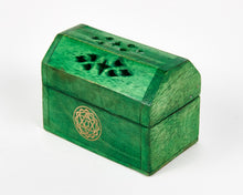 Load image into Gallery viewer, Green Heart Chakra Incense Box image 3