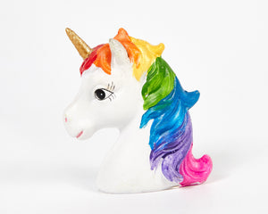 Miniature Unicorn Head, Good Luck Charm, Trinket, Home Presents, Home Gifts