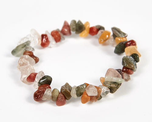Rutilated Quartz Stone Bracelet image 1