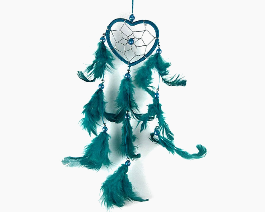 Heart Dream Catcher Turquoise