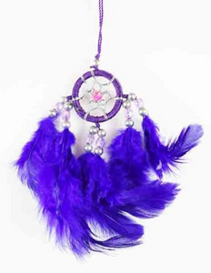 Dream Catcher Purple 3cm