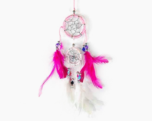 Pink Double Dreamcatcher