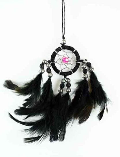 Dream Catcher Black 3cm