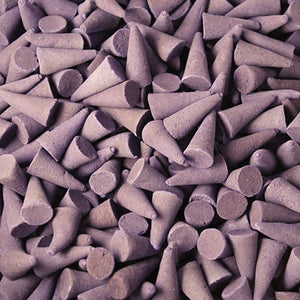 Lavender Scented Incense Cones - Natural, Eco Friendly Incense Cones for Incense Holder, Incense Burner