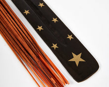 Load image into Gallery viewer, Star Black & Gold Mango Wood Incense Holder image 2
