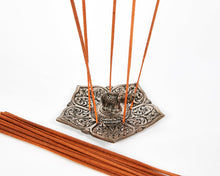 Load image into Gallery viewer, Elephant Pointed Leaf Aluminium Incense Holder image 2