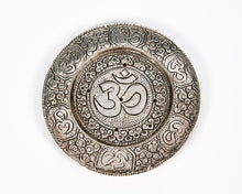 Load image into Gallery viewer, Ohm Round Plate 5 Hole Aluminium Incense Burner image 2