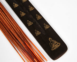 Buddha Black & Gold Mango Incense Holder image 2