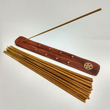 Load image into Gallery viewer, Pentagram Brass Inlaid Incense Holder image 2