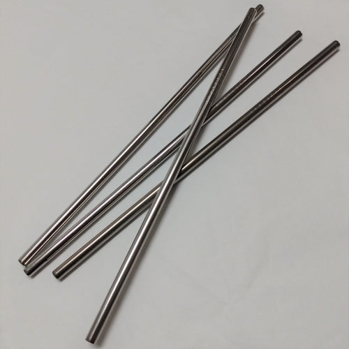 Eco-friendly, Reusable, Stainless Steel Straws (Straight). Natural and Zero Waste. Plastic Free.