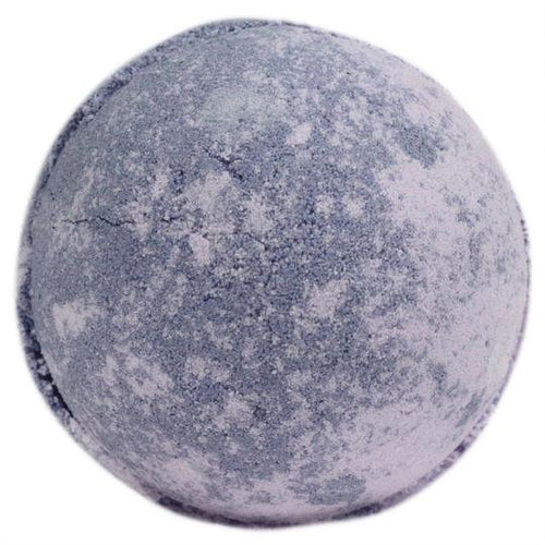 Natural Eco Friendly Bath Bomb, Parma Violets Skin Kind Shea Butter Large Bath Bomb Gift Wrapped Plastic Free Packaging