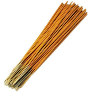 Amber Incense Sticks Long Burning - Natural, Eco Friendly Bamboo Incense Sticks for Incense Holder, Incense Burner & Ash Catcher