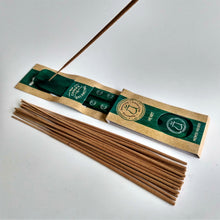Load image into Gallery viewer, Green Heart Chakra Bamboo Incense Holder image 2