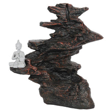 Load image into Gallery viewer, Buddha On Rocks Backflow Incense Burner image 3