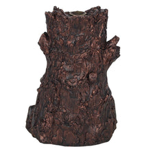 Load image into Gallery viewer, Large Bronze Bearded Tree Green Man Pagan Backflow Incense Burner image 3