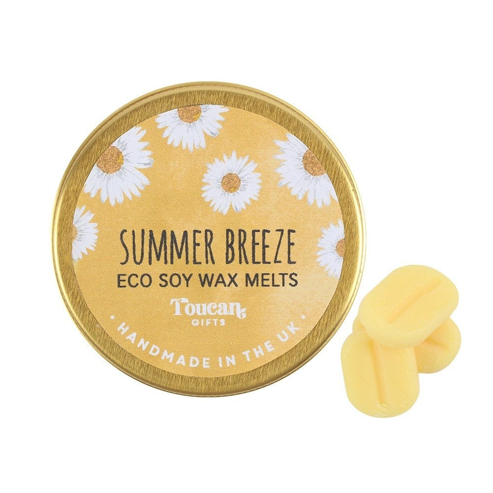 15 x Summer Breeze Wax Melts Gift Set Birthday Wax Melts - Eco Friendly Wax Melts Soy Wax Melts Soy Candle Wax Melt Burner Oil Burner Candle
