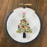 Bright Ornaments Downloadable PDF Embroidery Pattern