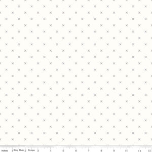 Bee Backgrounds Cross Stitch Gray SKU: C6381-GRAY