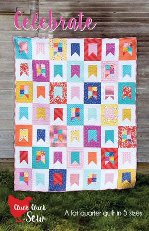 Celebrate #164, Paper Pattern by Cluck Cluck Sew
