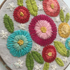 """Chrysanthemum"" Embroidery Kit"