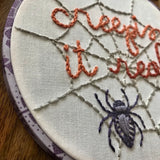 Creepin' It Real Downloadable PDF Embroidery Pattern