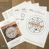 """Spooky Round"" Downloadable PDF Embroidery Pattern"