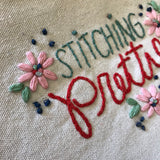 Stitching Pretty Zipper Pouch Pattern DOWNLOAD