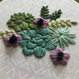 Succulent Downloadable PDF Embroidery Pattern
