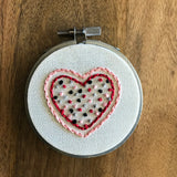 Valentines Embroidery Kit