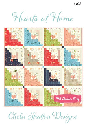 Hearts at Home II by Chelsi Stratton Designs