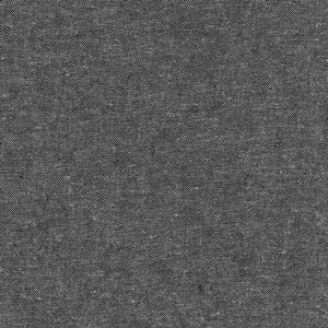 Essex Yarn Dyed Charcoal Linen Yardage  SKU# E064-1071