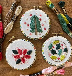 Ornaments 3 Embroidery Kit