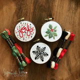"""Ornaments"" Downloadable PDF Embroidery Pattern"