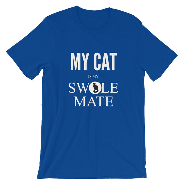 My Cat Is My Swole Mate Unisex T-Shirt