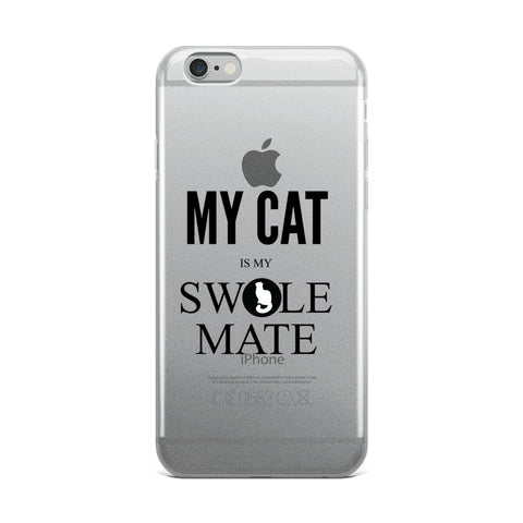 Swole-Mate Cat iPhone Phone Case