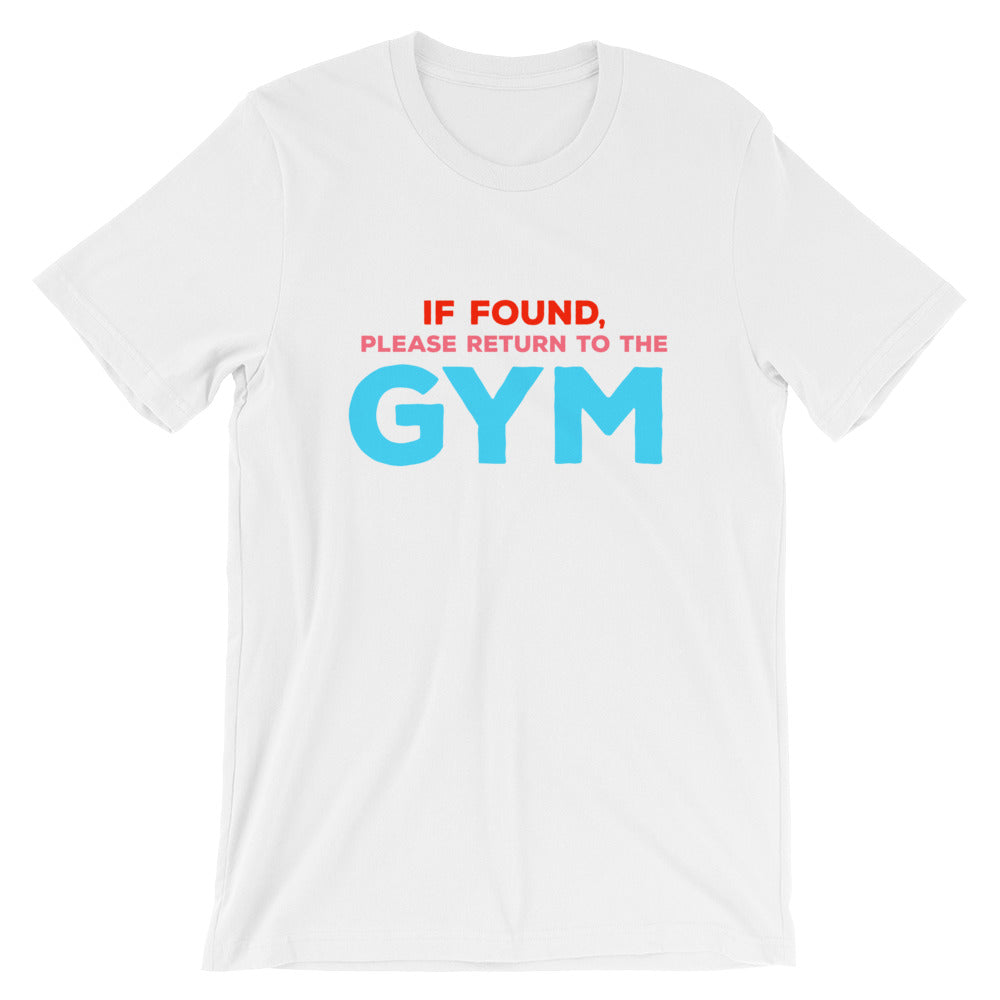Return To The Gym Unisex T-Shirt