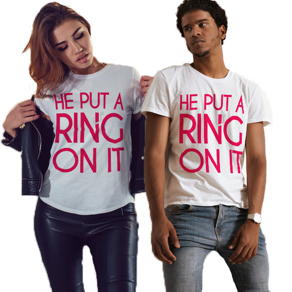 He Put A Ring On It Unisex T-Shirt